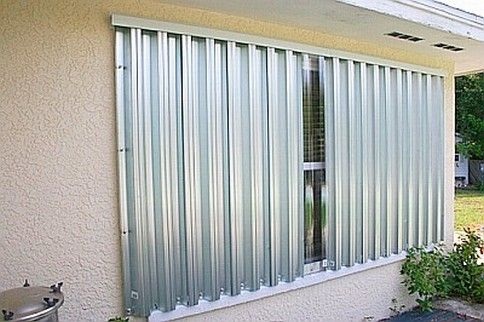 Installation and Removal of Tropical Shutters